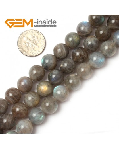 "G0616 10mm Natural Round Rainbow Labradorite Beads Jewelry Making Gemstone Loose Beads 15"" Natural Stone Beads for Jewelry Making Wholesale"