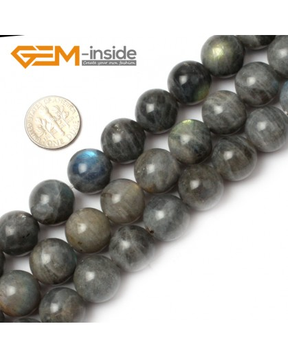 "G0625 14mm Natural Round Rainbow Labradorite Beads Jewelry Making Gemstone Loose Beads 15"" Natural Stone Beads for Jewelry Making Wholesale"