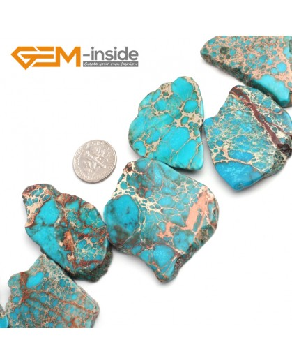 """G6519 Light Blue 25-50mm Freefrom Colorful Crazy Lace Agate Loose Beads 15"""" Jewelry Making Beads Natural Stone Beads for Jewelry Making Wholesale"""