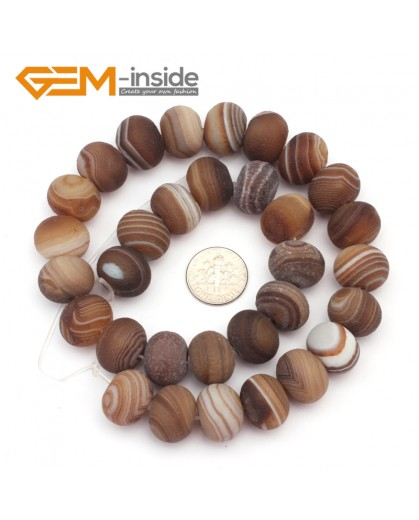 """G9312 12x16mm Rondelle/Roundel Frosted Botswana Agate Loose Beads Strand 15""""Free Shipping Natural Stone Beads for Jewelry Making Wholesale"""