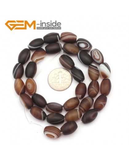 G9322 8x12mm/Frosted/Botswana Olivary Agate Beads Jewelry Making Loose Beads Free Shipping Natural Stone Beads for Jewelry Making Wholesale