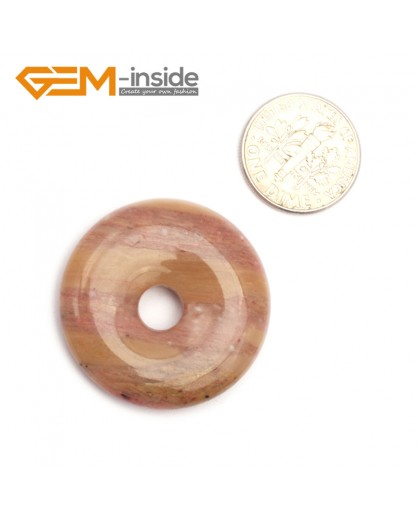 G9641 Agate(30mm) Natural Ring Lucky Buckle Beads For Earrings and Pendants 1 pcs 30 40 50mm Pick Pendants Fashion Jewelry Jewellery