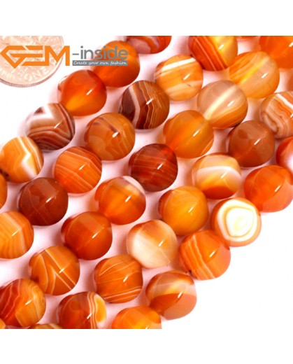 """G15845 10mm Lantern Faceted Natural Persian Striped Botswana Agate Strand 15"""" Natural Stone Beads for Jewelry Making Wholesale"""
