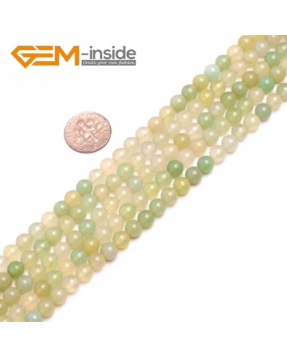G8177 6mm Natural Round Gemstone Grape Agate DIY Jewelry Crafts Making Loose Beads 15' Natural Stone Beads for Jewelry Making Wholesale