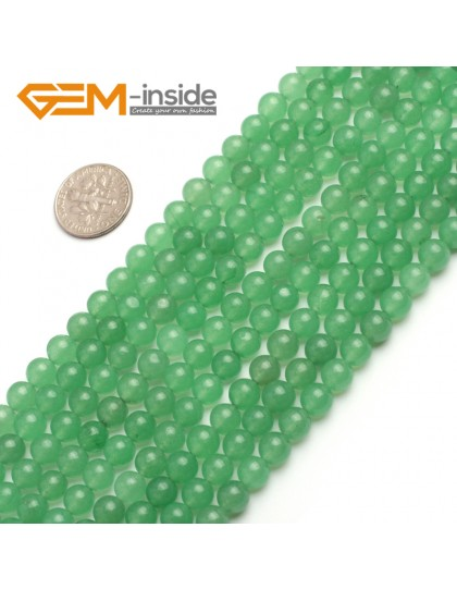"G6461 6mm  Round Green Jade Aventurine Beads Strand 15""Jewelry Making Gemstone Loose Beads Natural Stone Beads for Jewelry Making Wholesale"