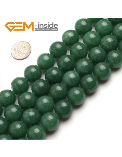 "G6466 16mm  Round Green Jade Aventurine Beads Strand 15""Jewelry Making Gemstone Loose Beads Natural Stone Beads for Jewelry Making Wholesale"