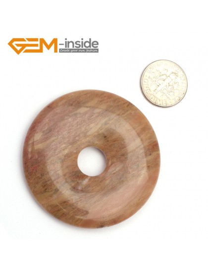 G9647 Agate(50mm) Natural Ring Lucky Buckle Beads For Earrings and Pendants 1 pcs 30 40 50mm Pick Pendants Fashion Jewelry Jewellery