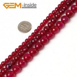 """G0165 6mm Round Faceted Gemstone Plum Agate Loose Beads Strand 15"""" Free Shipping Natural Stone Beads for Jewelry Making Wholesale"""