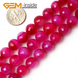 """G0167 10mm Round Faceted Gemstone Plum Agate Loose Beads Strand 15"""" Free Shipping Natural Stone Beads for Jewelry Making Wholesale"""