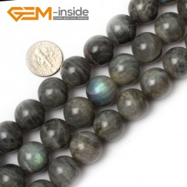 "G0626 15mm Natural Round Rainbow Labradorite Beads Jewelry Making Gemstone Loose Beads 15"" Natural Stone Beads for Jewelry Making Wholesale"