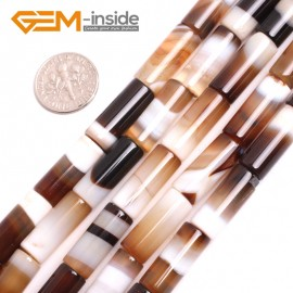 """G15064 8x20mm Column Botswana Agate Beads Jewelry Making Loose Beads Strand 15"""" Free Shipping Natural Stone Beads for Jewelry Making Wholesale"""