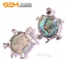 G3663 32x42mm tortoise Natural  Abalone Shell Beads Pendant Fashion Jewelry 1 Pcs Pendants Fashion Jewelry Jewellery