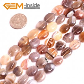 """G3998 10-12mm Natural Freeform Botswana Agate Beads 15"""" Jewelry Making Gemstone Loose Beads Natural Stone Beads for Jewelry Making Wholesale"""