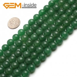 "G6463 10mm  Round Green Jade Aventurine Beads Strand 15""Jewelry Making Gemstone Loose Beads Natural Stone Beads for Jewelry Making Wholesale"