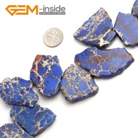 "G6518 Dark Blue 25-50mm Freefrom Colorful Crazy Lace Agate Loose Beads 15"" Jewelry Making Beads Natural Stone Beads for Jewelry Making Wholesale"