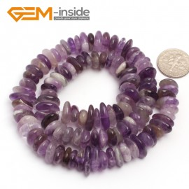 "G6630 Purple Dream Lace 3-5x10-12mm Freeform Potato Shape Gemstone Loose Beads Strand 15""Free Shipping Natural Stone Beads for Jewelry Making Wholesale`"