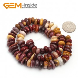 "G6661 Mookiate Jasper 3-5x10-12mm Freeform Potato Shape Gemstone Loose Beads Strand 15""Free Shipping Natural Stone Beads for Jewelry Making Wholesale`"