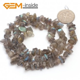 "G6767 Labradorite Freeform Chips Beads Strands 15"" 4-6x7-10mm Jewelry Making 45 Natural Materials Natural Stone Beads for Jewelry Making Wholesale`"