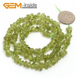"G6771 Green Peridot Freeform Chips Beads Strands 15"" 4-6x7-10mm Jewelry Making 45 Natural Materials Natural Stone Beads for Jewelry Making Wholesale`"