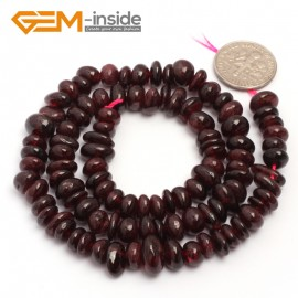 "G6777 Red Garnet Freeform Chips Beads Strands 15"" 4-6x7-10mm Jewelry Making 45 Natural Materials Natural Stone Beads for Jewelry Making Wholesale`"