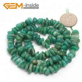 "G6786 Russia Amazonite Freeform Chips Beads Strands 15"" 4-6x7-10mm Jewelry Making 45 Natural Materials Natural Stone Beads for Jewelry Making Wholesale`"