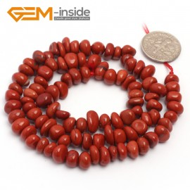 "G6790 Red Jasper Freeform Chips Beads Strands 15"" 4-6x7-10mm Jewelry Making 45 Natural Materials Natural Stone Beads for Jewelry Making Wholesale`"