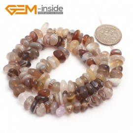 """G6793 Botswana Agate Freeform Chips Beads Strands 15"""" 4-6x7-10mm Jewelry Making 45 Natural Materials Natural Stone Beads for Jewelry Making Wholesale`"""