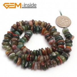 "G6795 India Agate Freeform Chips Beads Strands 15"" 4-6x7-10mm Jewelry Making 45 Natural Materials Natural Stone Beads for Jewelry Making Wholesale`"