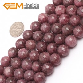 """G6957 12mm Round Pink Natural Chinese Tourmaline Gemstone Loose Beads 15"""" Natural Stone Beads for Jewelry Making Wholesale"""