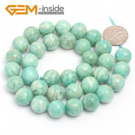 "G7037 10mm Round Gemstone Brazilian Amazonite DIY Crafts Making Loose Beads Strand 15"" Natural Stone Beads for Jewelry Making Wholesale`"