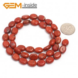 "G7080 Red Jasper 8x10mm Natural Gemstone DIY Jewelry Crafts Making Stone Loose Beads Strand 15""Natural Stone Beads for Jewelry Making Wholesale`"