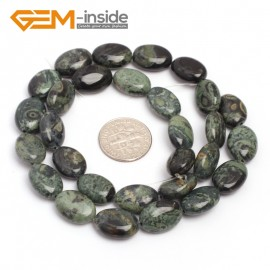 "G7097 Kambaba Jasper 10x14mm  Natural Gemstone DIY Jewelry Crafts Making Stone Loose Beads Strand 15"" Natural Stone Beads for Jewelry Making Wholesale"