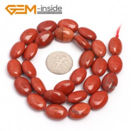"G7098 Red Jasper 10x14mm  Natural Gemstone DIY Jewelry Crafts Making Stone Loose Beads Strand 15"" Natural Stone Beads for Jewelry Making Wholesale"