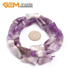 """G7134 Amethyst 9x20mm Twist Column Gemstone DIY Jewelry Crafts Making Loose Beads strand 15""""Natural Stone Beads for Jewelry Making Wholesale`"""