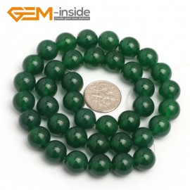 "G7926 10mm Round Natural Green Agate Stone Beads 15"" Natural Stone Beads for Jewelry Making Wholesale"