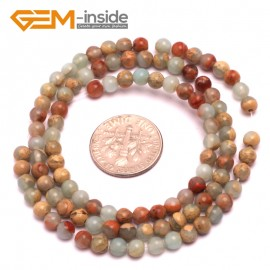 """G8079 4mm Round Gemstone Shoushan Stone DIY Jewelry Crafts Making Loose Beads Strand 15"""" Natural Stone Beads for Jewelry Making Wholesale"""
