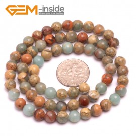 "G8080 6mm Round Gemstone Shoushan Stone DIY Jewelry Crafts Making Loose Beads Strand 15"" Natural Stone Beads for Jewelry Making Wholesale"