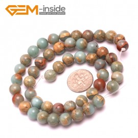 """G8081 8mm Round Gemstone Shoushan Stone DIY Jewelry Crafts Making Loose Beads Strand 15"""" Natural Stone Beads for Jewelry Making Wholesale"""