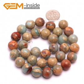 """G8083 12mm Round Gemstone Shoushan Stone DIY Jewelry Crafts Making Loose Beads Strand 15"""" Natural Stone Beads for Jewelry Making Wholesale"""