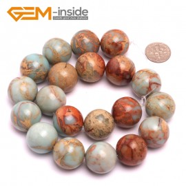 """G8086 20mm Round Gemstone Shoushan Stone DIY Jewelry Crafts Making Loose Beads Strand 15"""" Natural Stone Beads for Jewelry Making Wholesale"""