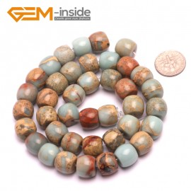 "G8094 10x12mm Rondelle Gemstone Shoushan Stone DIY Crafts Making Loose Stone Beads Strand 15"" Natural Stone Beads for Jewelry Making Wholesale"