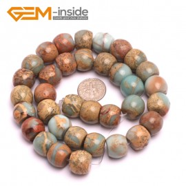 "G8095 12x14mm Rondelle Gemstone Shoushan Stone DIY Crafts Making Loose Stone Beads Strand 15"" Natural Stone Beads for Jewelry Making Wholesale"
