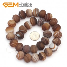"G9312 12x16mm Rondelle/Roundel Frosted Botswana Agate Loose Beads Strand 15""Free Shipping Natural Stone Beads for Jewelry Making Wholesale"