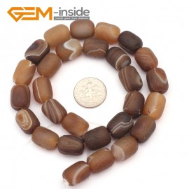 G9314 10x14mm/Frosted/Botswana Column Agate Beads Jewelry Making Gemstone Beads Free Shipping Natural Stone Beads for Jewelry Making Wholesale