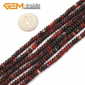 "G9329 2x4mm/Dream Lace Free Shipping Rondelle Gemstone Agate Beads Jewelry Making Loose Beads 15"" Natural Stone Beads for Jewelry Making Wholesale"