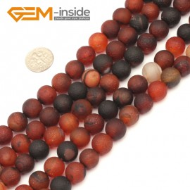 "G9342 10mm New Arrivals Frosted Round Dream Lace Agate Beads Strand 15""Free Shipping Natural Stone Beads for Jewelry Making Wholesale"