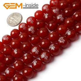 "G0013 10mm Round Gemstone Red Agate Buddha DIY Jewelry Crafts Making Design Beads15"" Natural Stone Beads for Jewelry Making Wholesale"