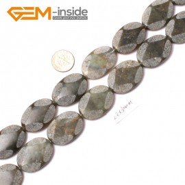 "G0641 22X30MM Oval Gemstone Labradorite Loose Beads Strand 15""Jewelery Making Beads Natural Stone Beads for Jewelry Making Wholesale"