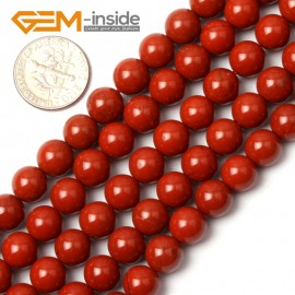 "G0722 8mm Round Natural Red Jasper Gemstone Loose Beads Strand 15"" Jewelry Making Beads Natural Stone Beads for Jewelry Making Wholesale"