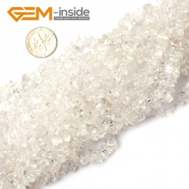 "G0865 Crystal Quartz 5-8mm Multi-Color Chips Gemstone Loose Beads Strand 15""& 34"" Free Shipping Natural Stone Beads for Jewelry Making Wholesale"